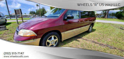 "2000 Ford Windstar for sale at WHEELS ""R"" US 2017 LLC in Hudson FL"