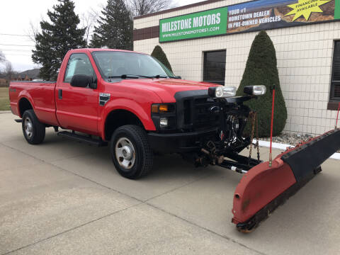2008 Ford F-250 Super Duty for sale at MILESTONE MOTORS in Chesterfield MI