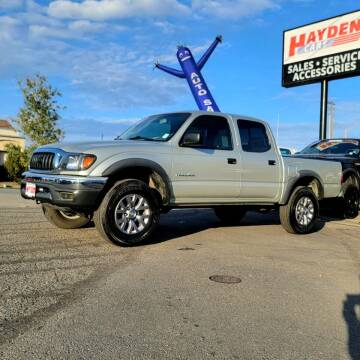 2003 Toyota Tacoma for sale at Hayden Cars in Coeur D Alene ID