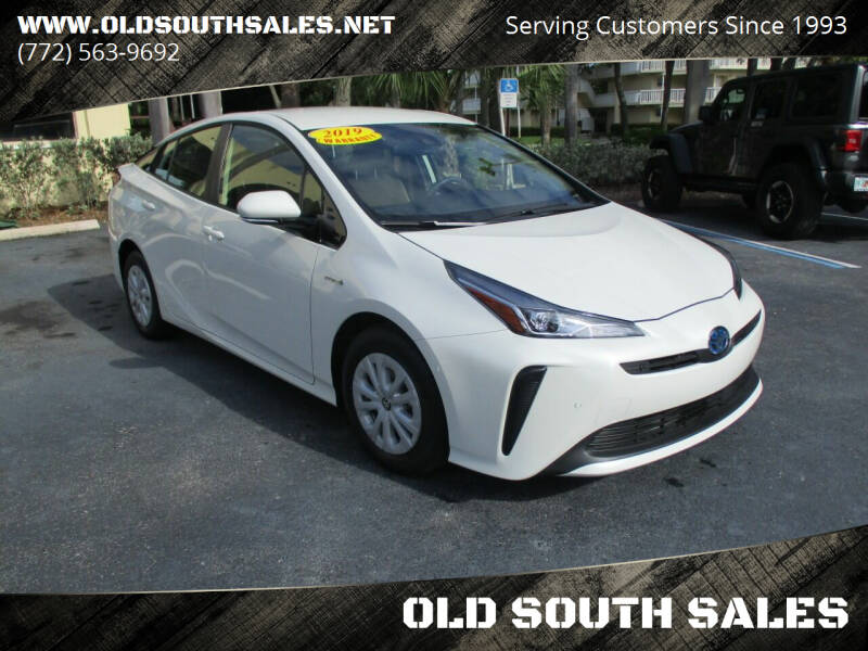 2019 Toyota Prius for sale at OLD SOUTH SALES in Vero Beach FL