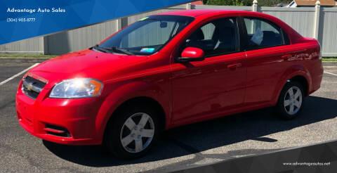 2010 Chevrolet Aveo for sale at Advantage Auto Sales in Wheeling WV