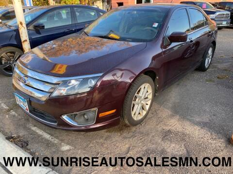 2011 Ford Fusion for sale at Sunrise Auto Sales in Stacy MN