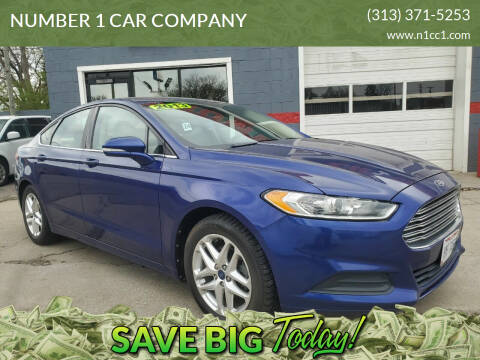 2013 Ford Fusion for sale at NUMBER 1 CAR COMPANY in Detroit MI