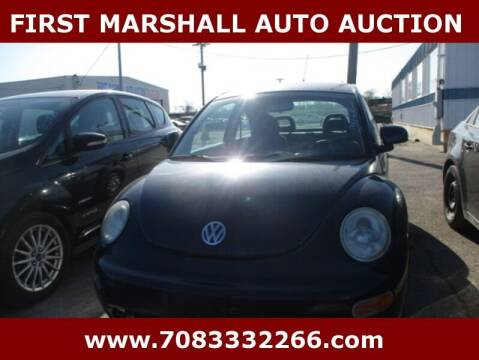2000 Volkswagen New Beetle for sale at First Marshall Auto Auction in Harvey IL