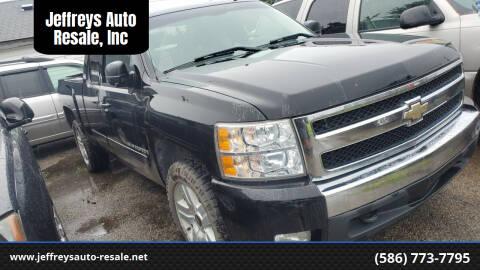 2007 Chevrolet Silverado 1500 for sale at Jeffreys Auto Resale, Inc in Clinton Township MI