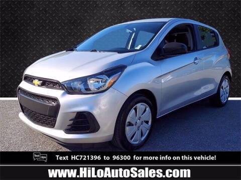 2017 Chevrolet Spark for sale at Hi-Lo Auto Sales in Frederick MD