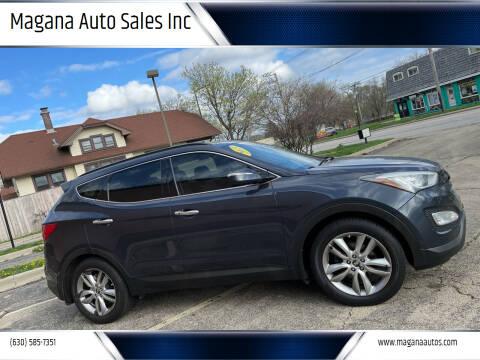 2013 Hyundai Santa Fe Sport for sale at Magana Auto Sales Inc in Aurora IL