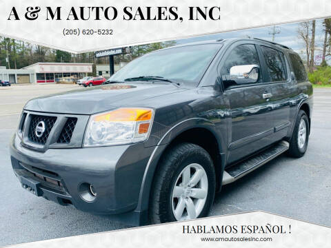 2012 Nissan Armada for sale at A & M Auto Sales, Inc in Alabaster AL