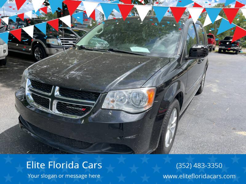 2015 Dodge Caravan for sale at Elite Florida Cars in Tavares FL