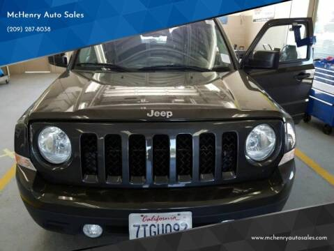 2016 Jeep Patriot for sale at MCHENRY AUTO SALES in Modesto CA