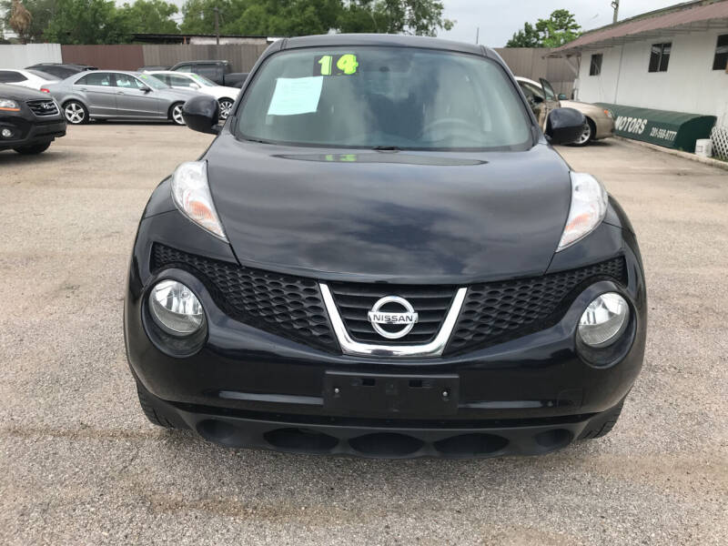 2014 Nissan JUKE for sale at SOUTHWAY MOTORS in Houston TX