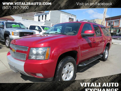 2012 Chevrolet Suburban for sale at VITALI AUTO EXCHANGE in Johnson City NY