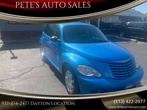 2008 Chrysler PT Cruiser for sale at PETE'S AUTO SALES - Dayton in Dayton OH