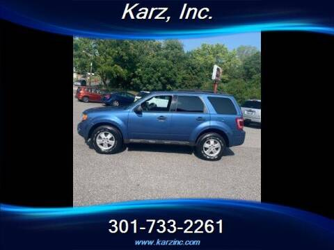 2010 Ford Escape for sale at Karz INC in Funkstown MD