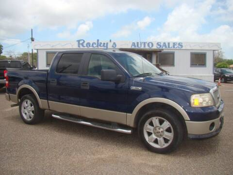 2008 Ford F-150 for sale at Rocky's Auto Sales in Corpus Christi TX