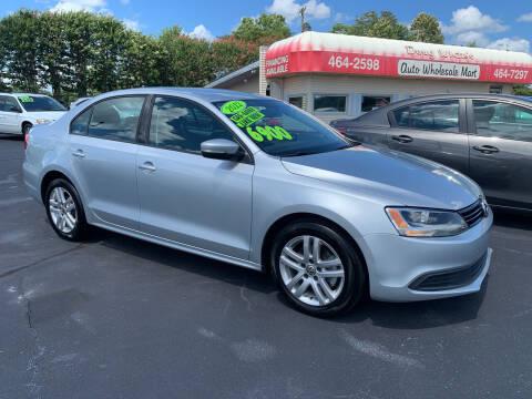 2012 Volkswagen Jetta for sale at Doug White's Auto Wholesale Mart in Newton NC