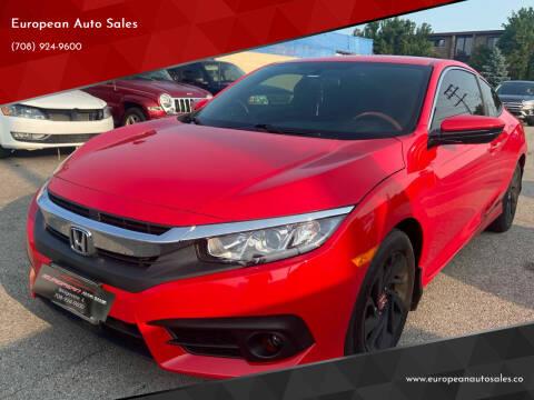2016 Honda Civic for sale at European Auto Sales in Bridgeview IL