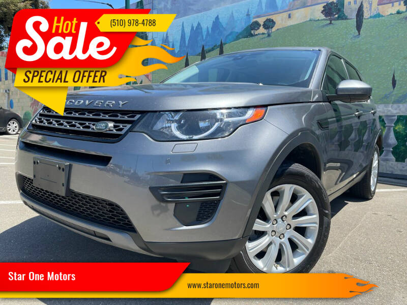 2016 Land Rover Discovery Sport for sale at Star One Motors in Hayward CA