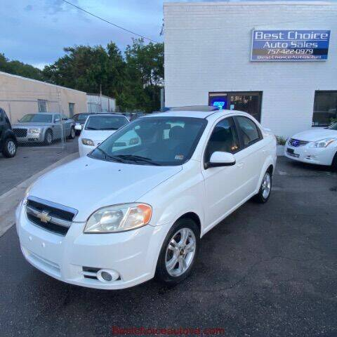 2011 Chevrolet Aveo for sale at Best Choice Auto Sales in Virginia Beach VA