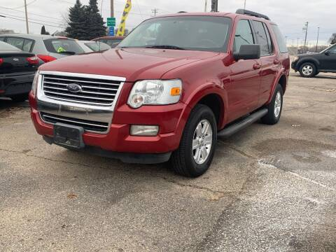 2010 Ford Explorer for sale at HIGHLINE AUTO LLC in Kenosha WI