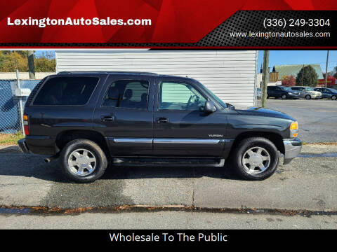 2006 GMC Yukon for sale at LexingtonAutoSales.com in Lexington NC