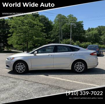 2014 Ford Fusion for sale at World Wide Auto in Fayetteville NC