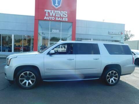 2016 GMC Yukon XL for sale at Twins Auto Sales Inc Redford 1 in Redford MI