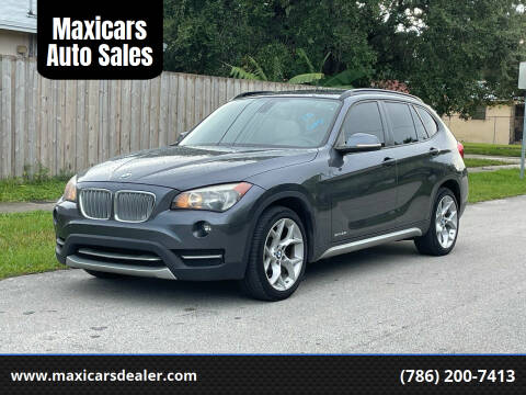 2013 BMW X1 for sale at Maxicars Auto Sales in West Park FL