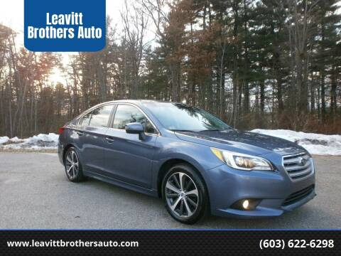 2015 Subaru Legacy for sale at Leavitt Brothers Auto in Hooksett NH