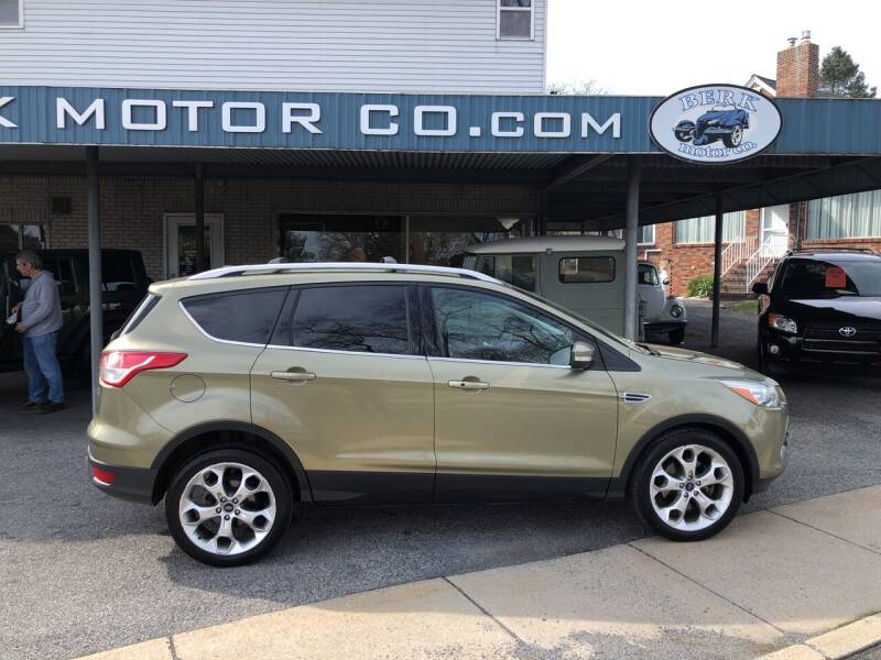 2013 Ford Escape for sale at Berk Motor Co in Whitehall PA