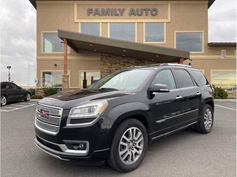 2014 GMC Acadia for sale at Moses Lake Family Auto Center in Moses Lake WA