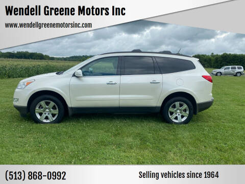 2012 Chevrolet Traverse for sale at Wendell Greene Motors Inc in Hamilton OH