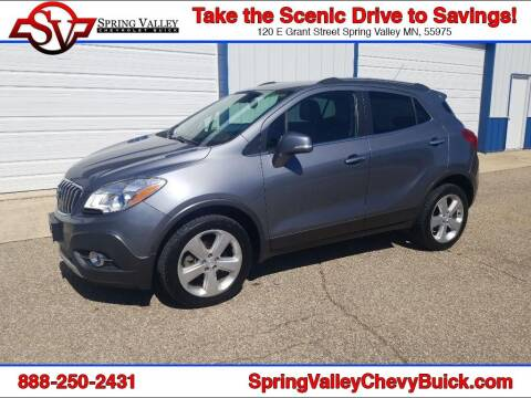 2015 Buick Encore for sale at Spring Valley Chevrolet Buick in Spring Valley MN