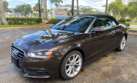 2014 Audi A5 for sale at Car Net Auto Sales in Plantation FL