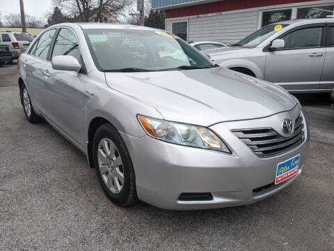 2009 Toyota Camry Hybrid for sale at Peter Kay Auto Sales in Alden NY