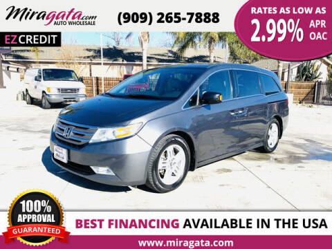2013 Honda Odyssey for sale at Miragata Auto in Bloomington CA