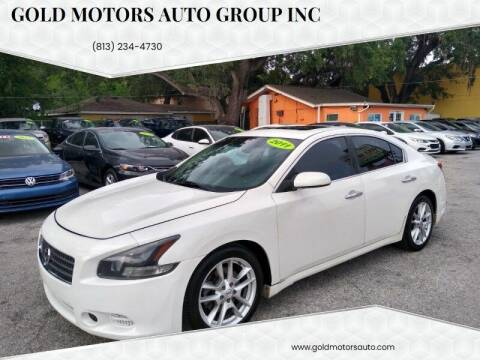 2011 Nissan Maxima for sale at Gold Motors Auto Group Inc in Tampa FL