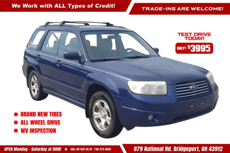2006 Subaru Forester for sale at Steel River Auto in Bridgeport OH