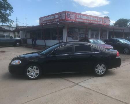 2013 Chevrolet Impala for sale at LA Auto Sales in Monroe LA