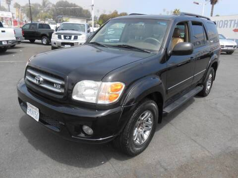 2004 Toyota Sequoia for sale at ANYTIME 2BUY AUTO LLC in Oceanside CA