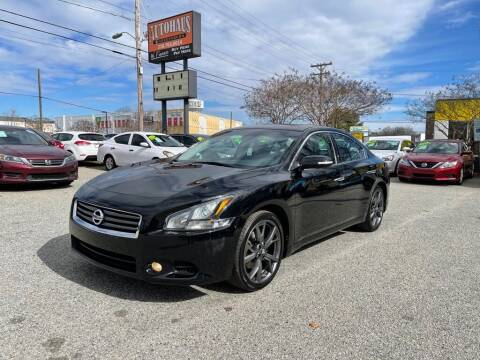 2014 Nissan Maxima for sale at Autohaus of Greensboro in Greensboro NC