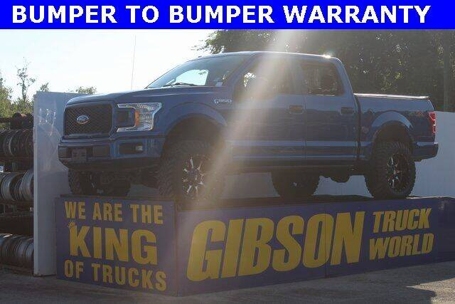 2018 Ford F-150 for sale at Gibson Truck World in Sanford FL