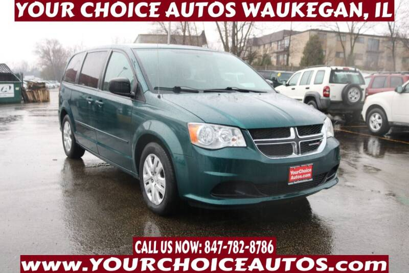 2014 Dodge Grand Caravan for sale at Your Choice Autos - Waukegan in Waukegan IL