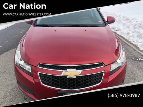 2011 Chevrolet Cruze for sale at Car Nation in Webster NY