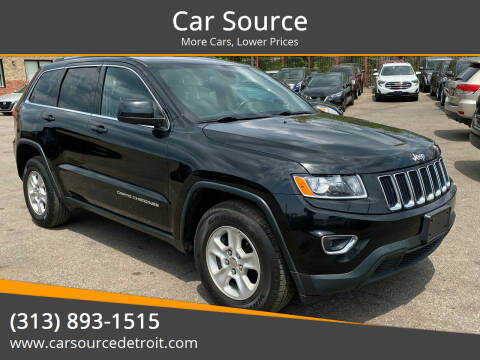 2015 Jeep Grand Cherokee for sale at Car Source in Detroit MI