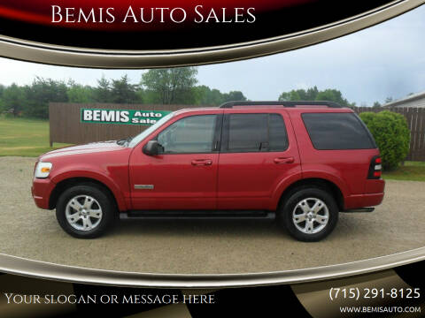 2008 Ford Explorer for sale at Bemis Auto Sales in Crivitz WI