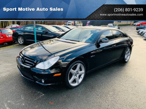 2007 Mercedes-Benz CLS for sale at Sport Motive Auto Sales in Seattle WA