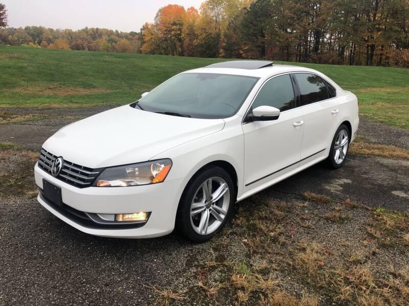 2015 Volkswagen Passat for sale at THATCHER AUTO SALES in Export PA