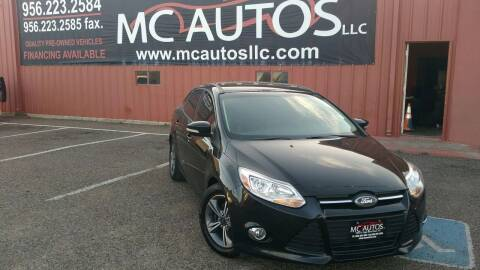 2014 Ford Focus for sale at MC Autos LLC in Pharr TX