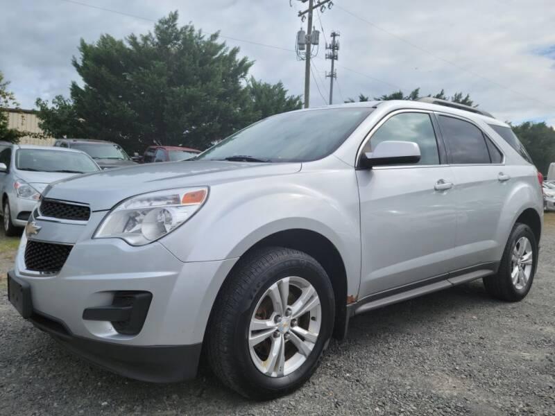 2013 Chevrolet Equinox for sale at PERUVIAN MOTORS SALES in Warrenton VA